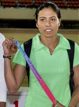 Priyanka Panwar was a member of the core group of 400m runners who were preparing for Rio since 2015.