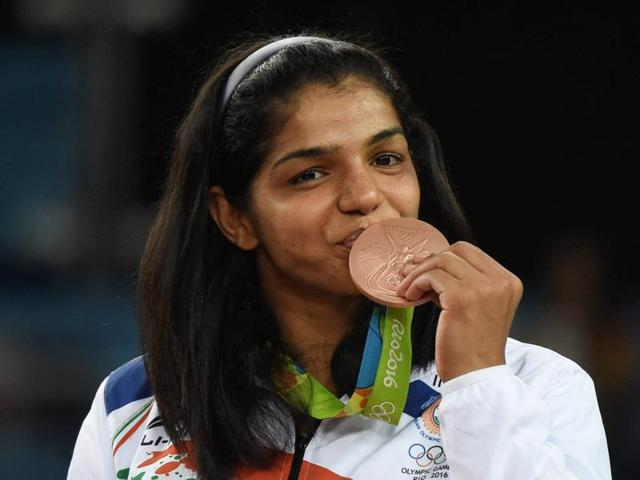 Rio Olympics,Sakshi Malik,Wrestling bronze medal