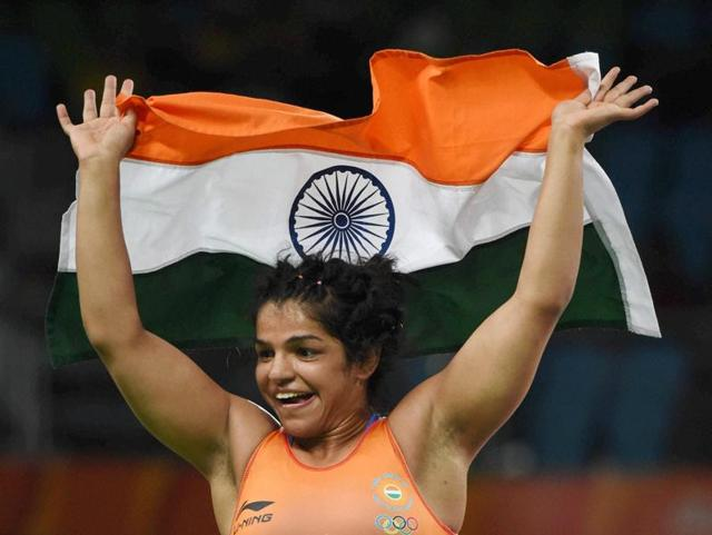 Sakshi herself was inspired by another wrestling champ to take up the sport.