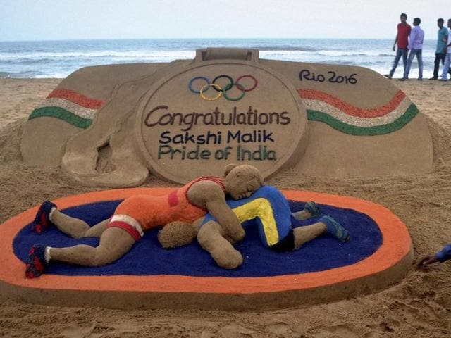 Rio Olympics,Sakshi Malik,PV Sindhu