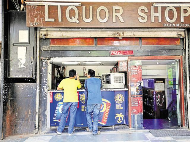 There are over 460 liquor shops in residential neighbourhoods.
