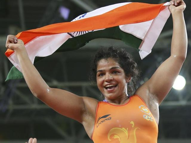 Sakshi Malik is the first female wrestler from India to win an Olympics medal.