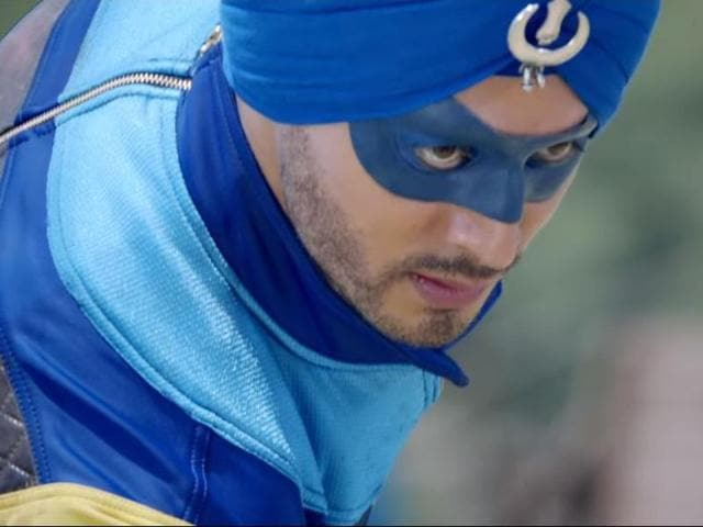 """The 26-year-old Baaghi star says through the film, they are only trying to present a """"desi superhero"""" to the public."""