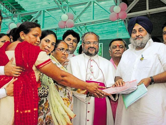 Sukhbir Singh Badal,Christian community,2017 assembly polls
