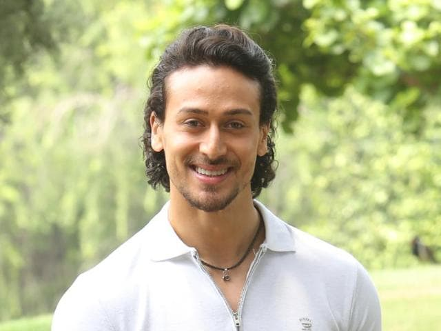 Actor Tiger Shroff says that he doesn't consult his father actor Jackie Shroff before singing a film.