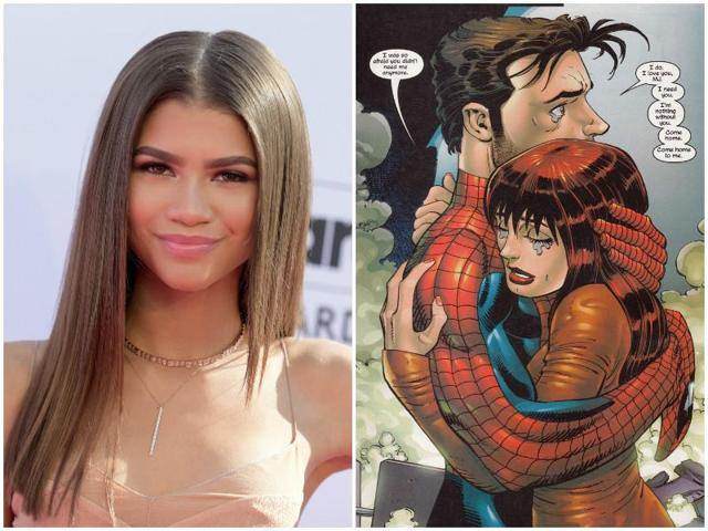 Zendaya is credited as Michelle, a non-comicbook character who is described as one of the classmates of Tom Holland's Peter Parker.