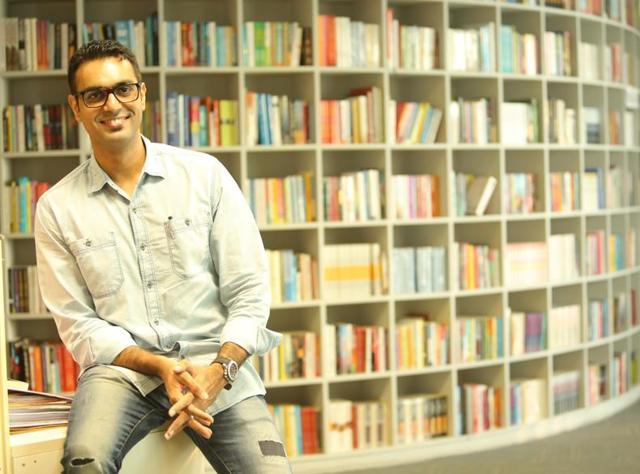 Author Ravinder Singh.