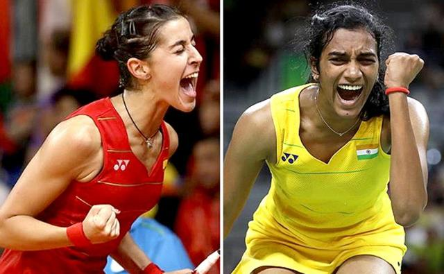 PV Sindhu last defeated Carolina Marin at the Denmark OpenSuperseries in October last year.