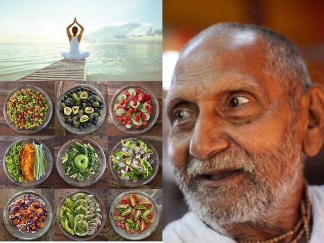 Swami Sivananda from Varanasi has a passport that puts his age at 120!(AFP)