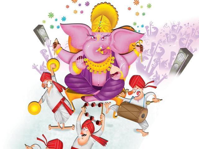 Ganeshotsav was a noisy affair last year