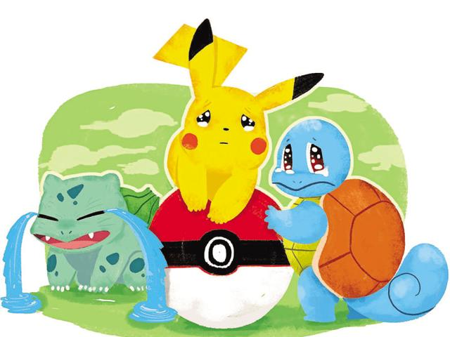 Pokemon trainer or slave owner? You capture free creatures using violence and then artificially evolve them for fights.