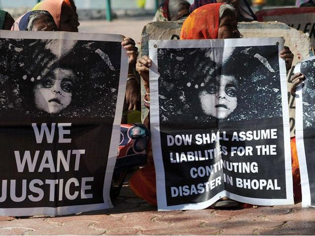 More than 31 years back, deadly methyl isocynate gas leaked at the Union Carbide pesticide plant in Bhopal that claimed thousands of lives and still has an impact over children who are born after the disaster.(File photo)