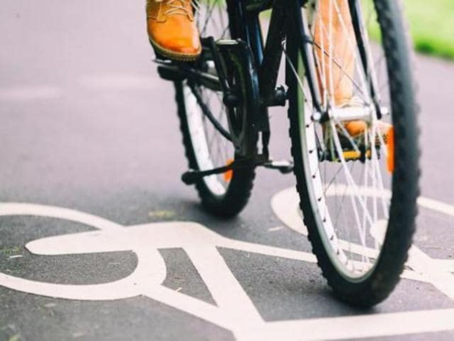 Irked by mother's scolding, a class 6 student cycled 450 km in four days to meet his father in Lucknow.
