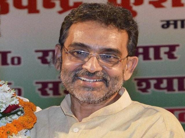 Union minister Upendra Kushwaha suspended Arun Kumar and Lalan Paswan from Rashtriya Lok Samta Party.
