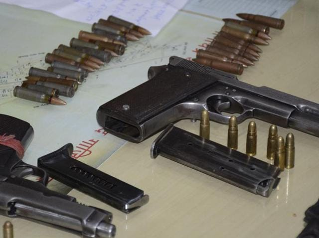 Illegal arms factory,Sahibabad crime,country-made pistol