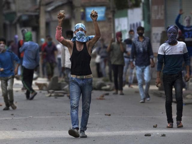 Kashmiris have been clashing with security forces since Hizbul Mujahideen commander Burhan Wani was killed in an encounter in July. Sixty six people have so far died in the violence that has injured hundreds more.