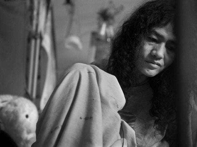 Irom Sharmila's mother Sakhi, came to meet her after 16 years.
