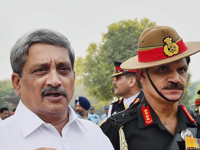 Army chief,General Dalbir Singh,Manohar Parrikar