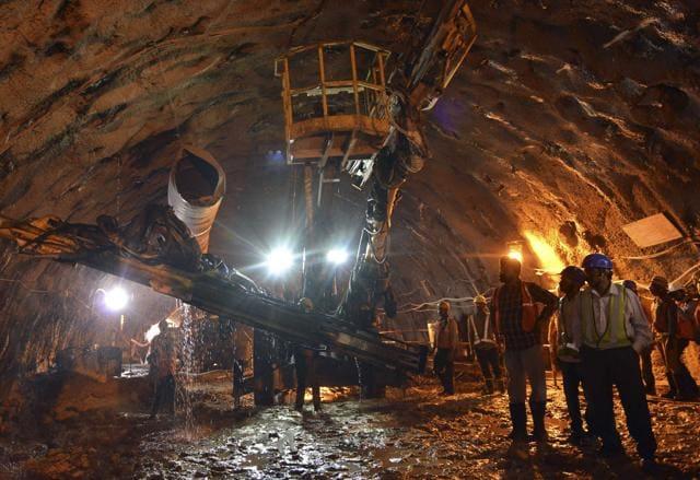At the Kalkaji interchange station, the DMRC has used the New Austrian Tunnelling Method (NATM) between Kalkaji Mandir and Okhla Phase-III.