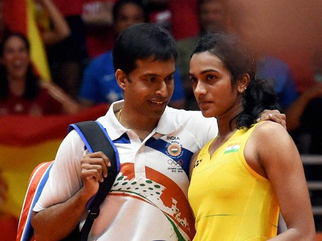 PV Sindhu  became the first Indian woman to win an Olympic silver, in Rio de Janeiro   on Friday.