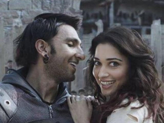 The six-minute-long TVC, Ranveer Ching Returns, stars Ranveer Singh and southern superstar Tamannaah Bhatia.