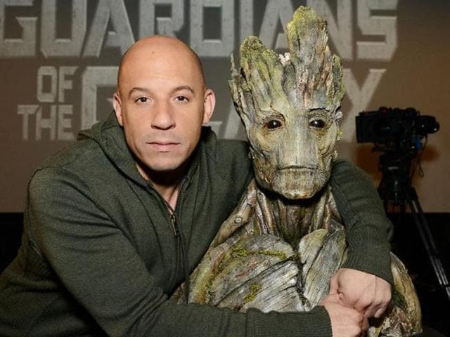 The 49-year-old Furious 7 star, who will lend his voice to Groot in the upcoming superhero film Guardians of the Galaxy Vol 2, revealed that the extraterrestrial tree creature (Groot) will be in the third installment of the Avengers franchise along with his guardians,