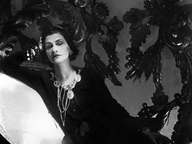 Coco Chanel in Paris, 1944.