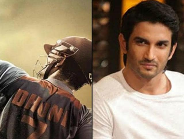 To portray Mahendra Singh Dhoni  (left0, actor Sushant Singh Rajput (right) had to undergo rigorous training to perfect his cricketing skills, specially to pull off Dhoni's trademark 'helicopter' shot well on screen.
