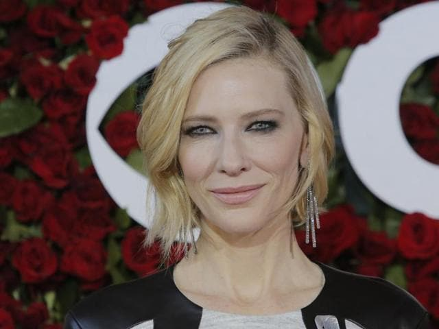 Actress Cate Blanchett is the narrator of director Terrence Malick's new documentary, Voyage of Time.