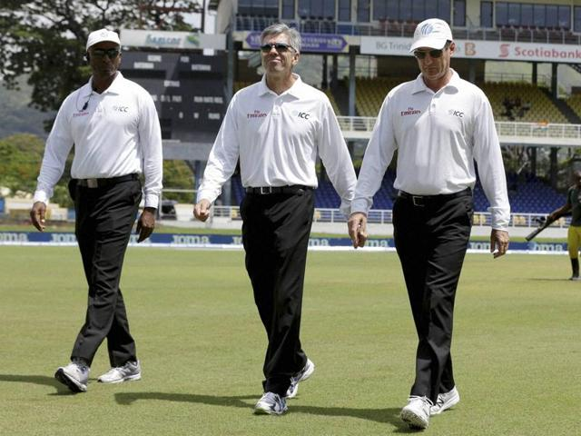 Play is called off due to rain during day 1 of the 4th and final Test between West Indies and India.