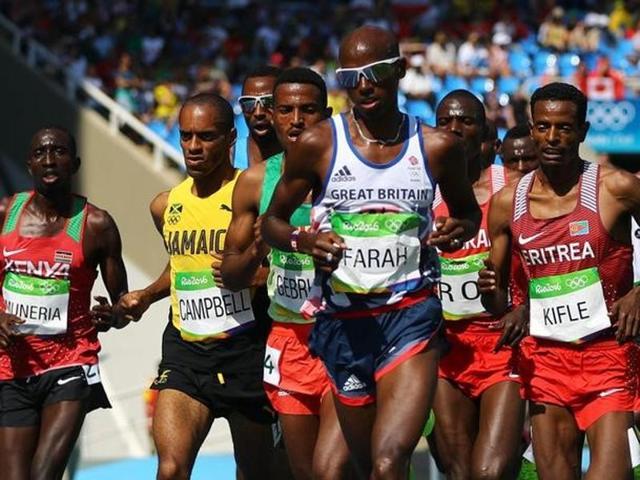 Mo Farah,athletics,Rio 2016