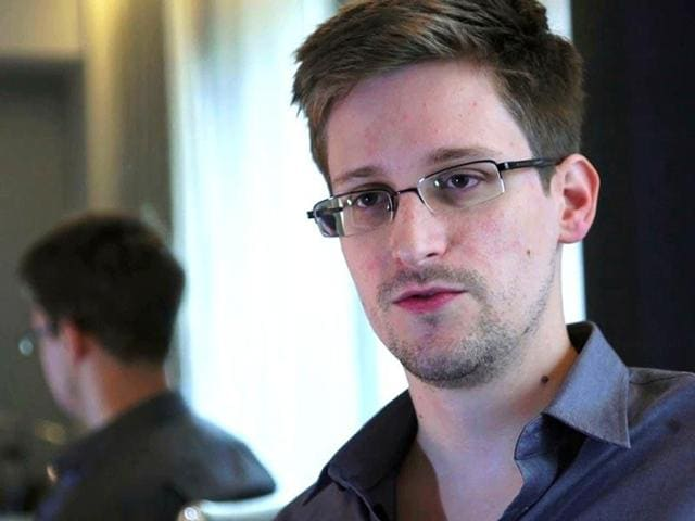 This photo provided by The Guardian Newspaper in London shows Edward Snowden, who worked as a contract employee at the National Security Agency.