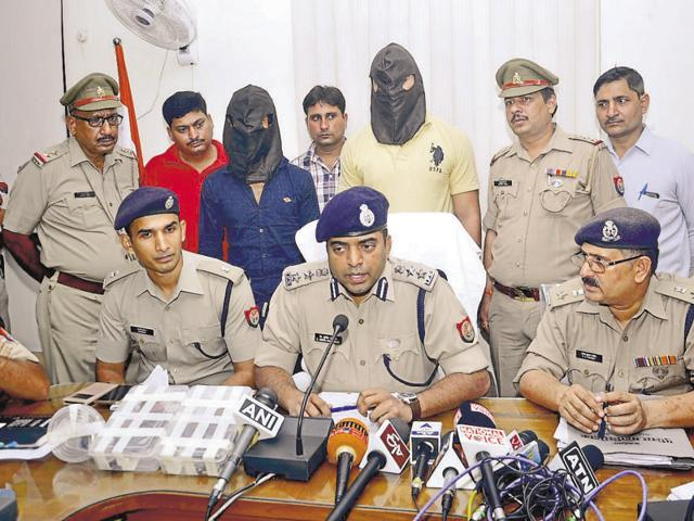 The two accused, Abhishek Gurjar and Gaurav Chaudhary, were arrested while riding a stolen Apache bike on Friday morning.