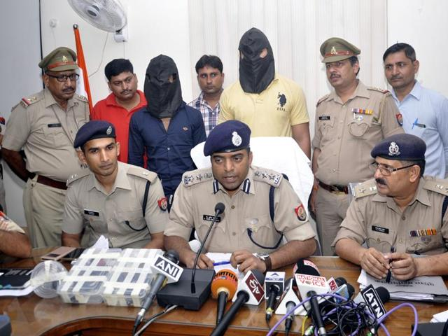 Two more suspects involved in an attack on BJP leader Brijpal Teotia were arrested by a joint team of UP STF and Ghaziabad Police in Ghaziabad.