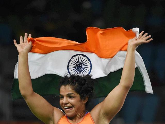 Sakshi Malik became India's first female wrestler to win an Olympic medal  on Wednesday.