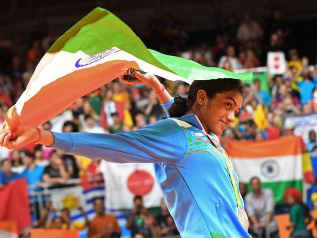 Silver medallist Pusarla V Sindhu's father is a retired Railways employee.