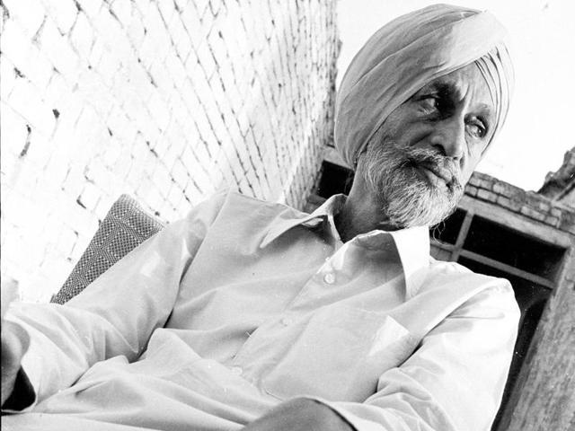Punjabi writer Gurdial Singh