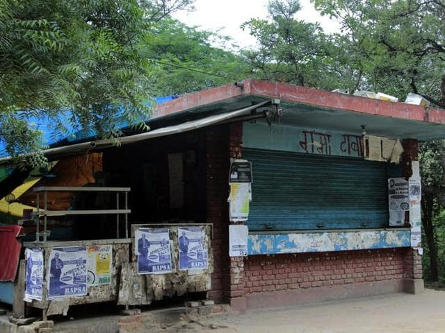 JNU's Ganga Dhaba may shut shop as its owners have been served an eviction notice.