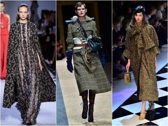 The fall/winter 2016-2017 season will be all about length, with coats leading the way, gaining a good few inches compared with last year's cuts.