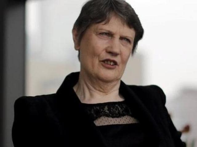 Helen Clark, former Prime Minister of New Zealand and current Administrator of the United Nations Development Program, is one of the five women in race  for the post of UN secretary general.