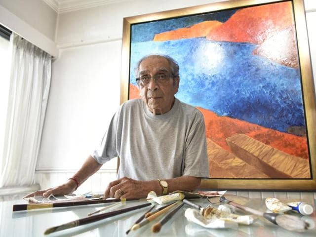 Master artist Akbar Padamsee (above) and filmmaker Ashim Ahluwalia have collaborated to reinterpret the former's lost film, Events in A Cloud Chamber.