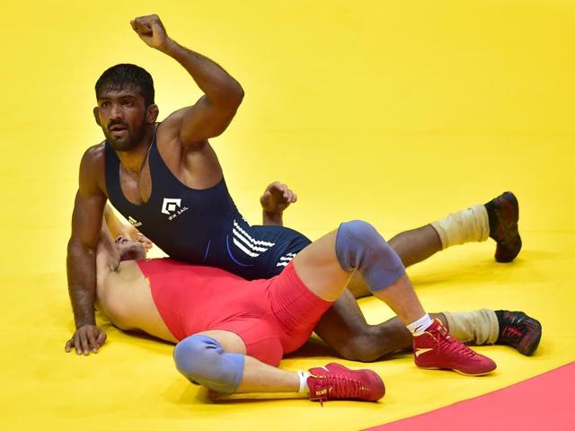Yogeshwar Dutt, bronze medallist from London 2012, will be hoping to deliver another medal to give Indians something to cheer about on Sunday, the last day of the Games.