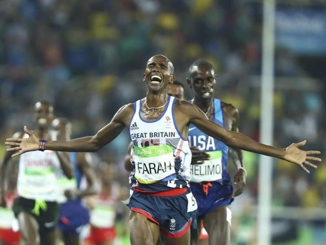 Mo Farah,Rio Olympics,Olympics