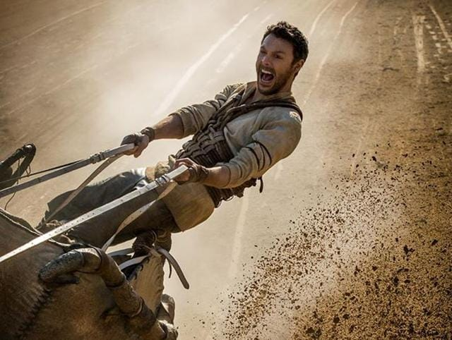 Ben Hur has great spectacle but fails to measure up to the 1959 version in excitement.