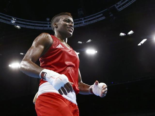 Nicola Adams won a unanimous points decision over France's Sarah Ourahmoune in their flyweight final to add to the gold she won at London 2012.