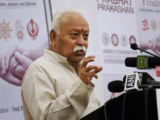Mohan Bhagwat,RSS chief,NDA government