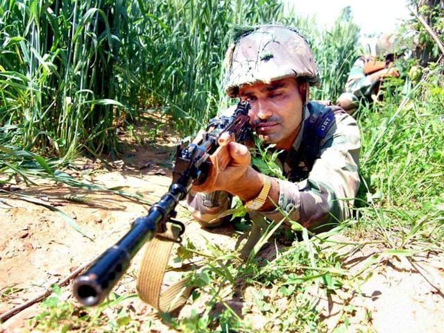 Militancy in J-K,Militants killed near LoC in Kupwara,Tangdhar