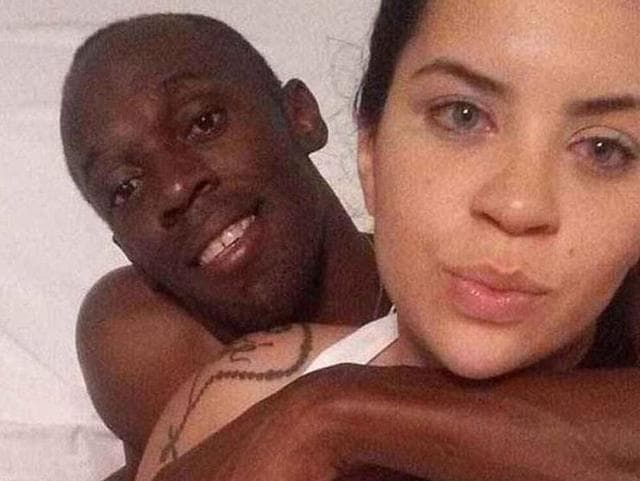20-year-old Rio student Jady Duarte shared photos of herself in bed with the track star the morning after his 30th birthday on Sunday.