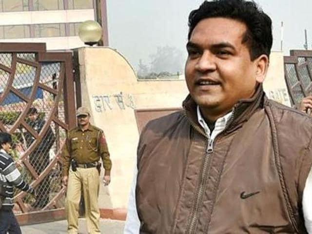 AAP,Delhi Water Minister,Kapil Sharma