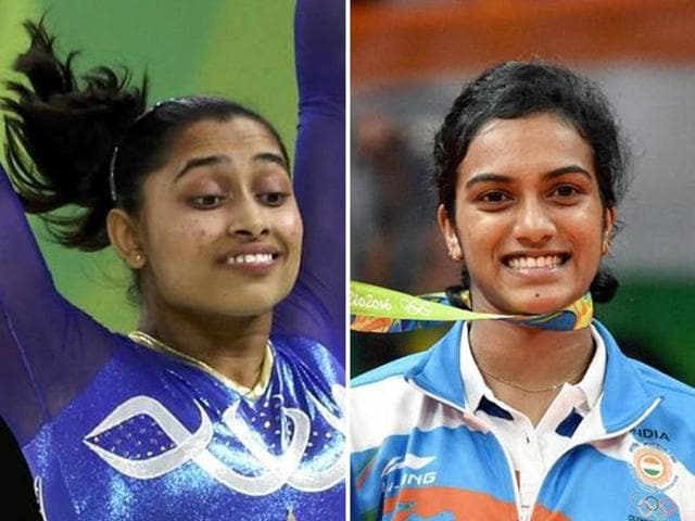 Karmakar's fourth-place finish in the individual vault final is India's best performance in the event at an international competition. Sindhu bagged the silver after going down in a match against World No 1 Marin of Spain.
